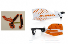 New Acerbis Frame Cover X-Grip WHT OR SX SXF 250 11-15 X Ultimate HandGuards